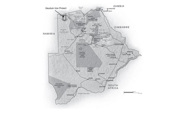 Tsodilo Resources iron ore project